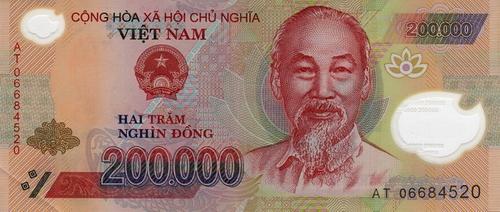 200 000 Vietnam Dong